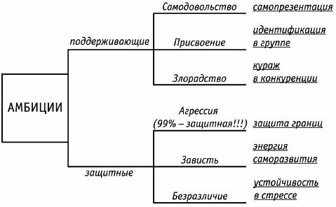 Схема статус человека