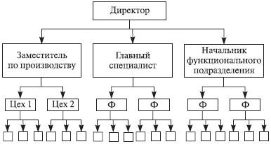 структурная схема организации образец