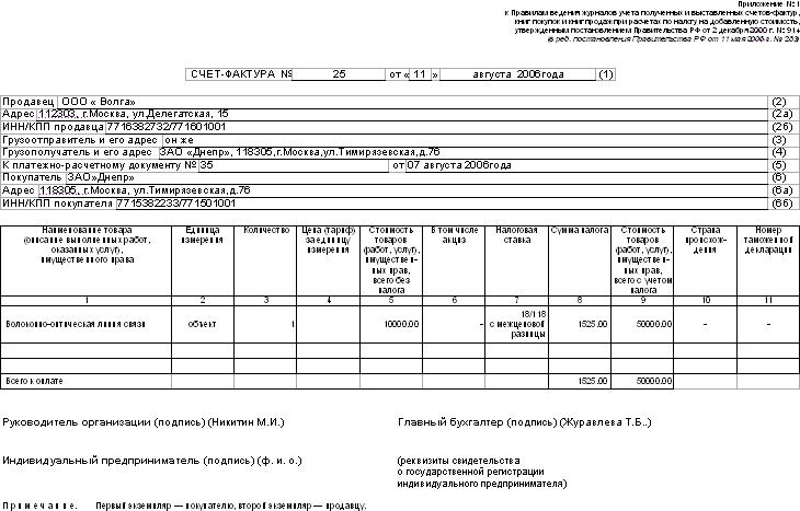 счет на оплату за аренду помещения образец - фото 5