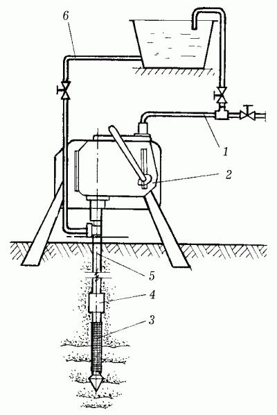 Схема насоса БФК-4 на