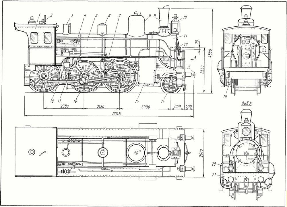 Пассажирский паровоз типа