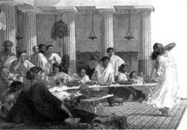 Пир на весь мир древнеримская традиция?