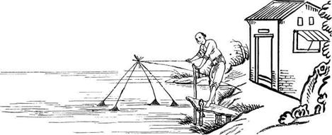 древние способы ловли рыбы видео