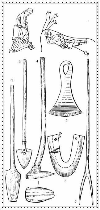 Лопата деревянная. XI век. 3.