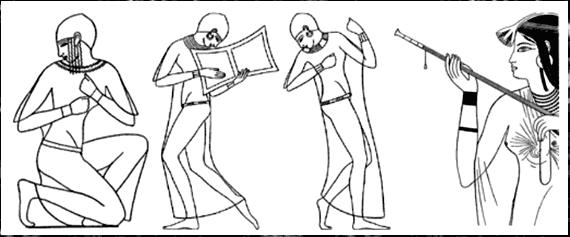 Древнеегипеткие боги жители древнего