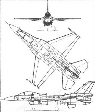 Первоначально предполагалось создание полностью нового самолета, выполненного по схеме.