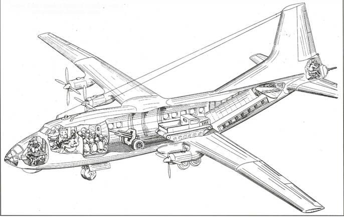 существенно уступал Ил-18.