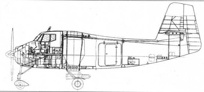 Ан-3 с двигателем ТВ2-117С