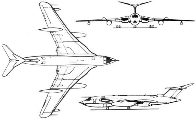 Схема самолета «Виктор»
