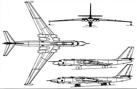 Схема самолета ЗМ, внизу – ЗМД