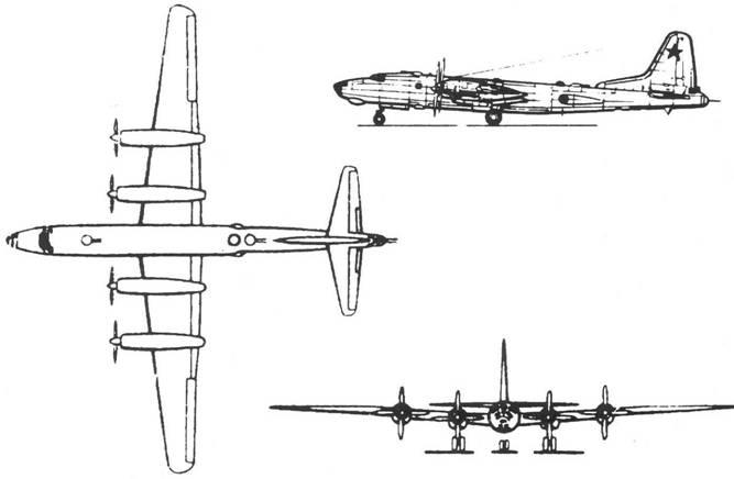 Схема самолета «80»